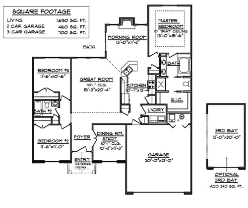 House Floor Plans 2000 Square Feet 2000 Square Foot House Floor